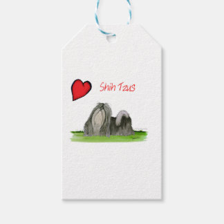 we luv shih tzus from Tony Fernandes Pack Of Gift Tags