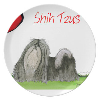 we luv shih tzus from Tony Fernandes Party Plates