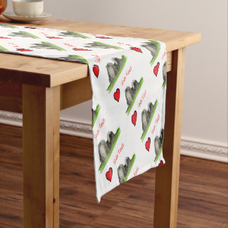 we luv shih tzus from Tony Fernandes Short Table Runner
