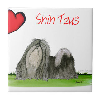 we luv shih tzus from Tony Fernandes Tiles
