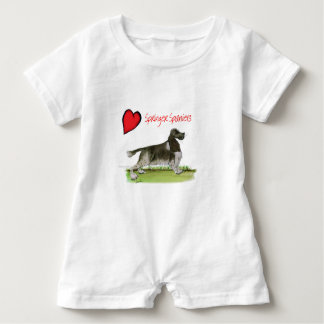 we luv springer spaniels from Tony Fernandes Baby Romper
