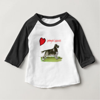 we luv springer spaniels from Tony Fernandes Baby T-Shirt
