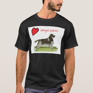 we luv springer spaniels from Tony Fernandes T-Shirt