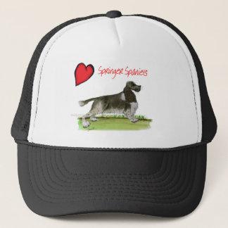 we luv springer spaniels from Tony Fernandes Trucker Hat