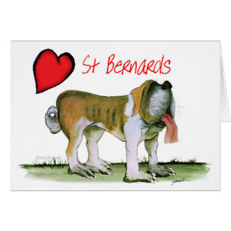 we luv st bernards from Tony Fernandes Card