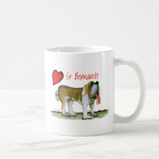 we luv st bernards from Tony Fernandes Coffee Mug