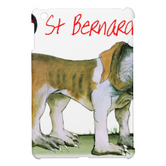 we luv st bernards from Tony Fernandes iPad Mini Cases