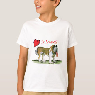 we luv st bernards from Tony Fernandes T-Shirt