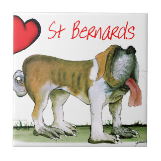 we luv st bernards from Tony Fernandes Tile