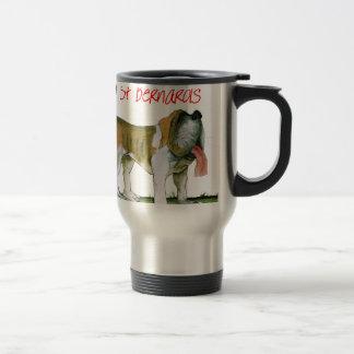 we luv st bernards from Tony Fernandes Travel Mug