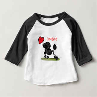 we luv standard poodles from Tony Fernandes Baby T-Shirt