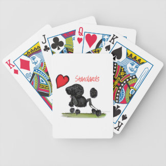 we luv standard poodles from Tony Fernandes Bicycle Playing Cards