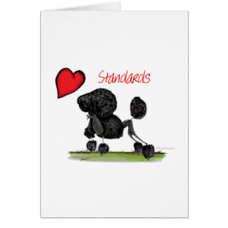 we luv standard poodles from Tony Fernandes Card