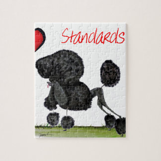 we luv standard poodles from Tony Fernandes Jigsaw Puzzle