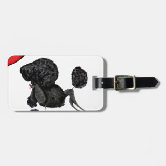 we luv standard poodles from Tony Fernandes Luggage Tag