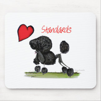 we luv standard poodles from Tony Fernandes Mouse Pad