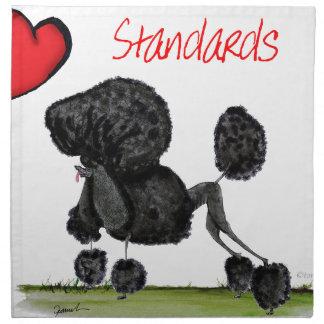we luv standard poodles from Tony Fernandes Napkin