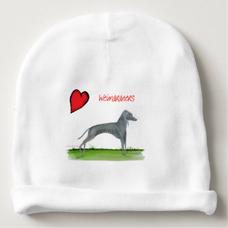 we luv weimaraners from Tony Fernandes Baby Beanie