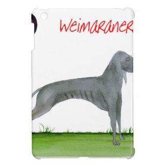 we luv weimaraners from Tony Fernandes Case For The iPad Mini