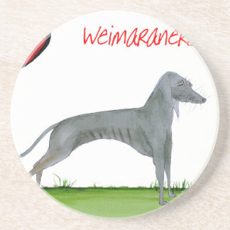 we luv weimaraners from Tony Fernandes Coaster