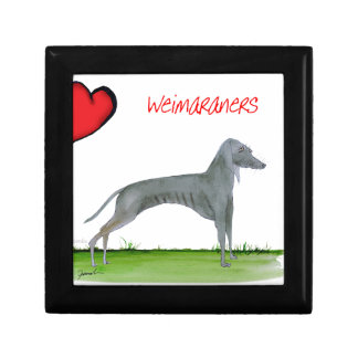 we luv weimaraners from Tony Fernandes Gift Box