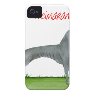 we luv weimaraners from Tony Fernandes iPhone 4 Case-Mate Case