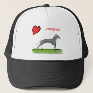 we luv weimaraners from Tony Fernandes Trucker Hat