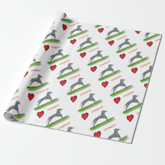 we luv weimaraners from Tony Fernandes Wrapping Paper