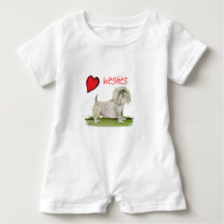 we luv westies from Tony Fernandes Baby Romper