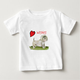 we luv westies from Tony Fernandes Baby T-Shirt