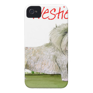 we luv westies from Tony Fernandes iPhone 4 Case-Mate Case