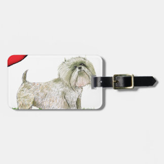 we luv westies from Tony Fernandes Luggage Tag