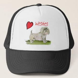 we luv westies from Tony Fernandes Trucker Hat