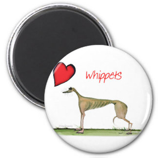 we luv whippets from Tony Fernandes Magnet