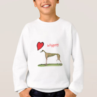 we luv whippets from Tony Fernandes Sweatshirt