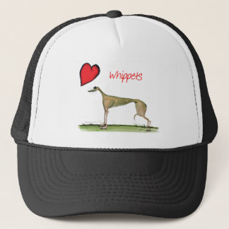 we luv whippets from Tony Fernandes Trucker Hat