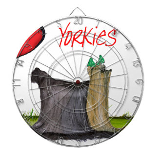 we luv yorkies from Tony Fernandes Dartboard