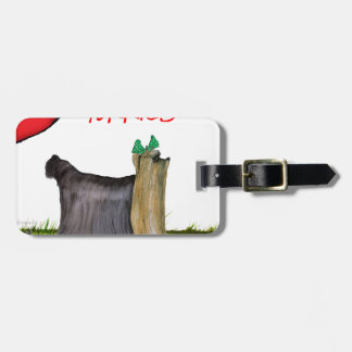 we luv yorkies from Tony Fernandes Luggage Tag