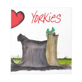 we luv yorkies from Tony Fernandes Notepad