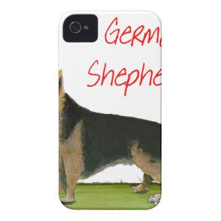 we luve german shepherds from Tony Fernandes iPhone 4 Case