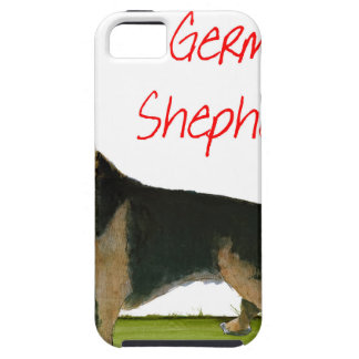 we luve german shepherds from Tony Fernandes iPhone 5 Cover