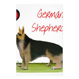 we luve german shepherds from Tony Fernandes Stationery