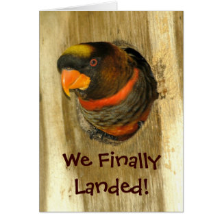 We Moved Announcement Greeting Card