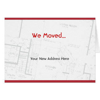 We Moved, moving announcement