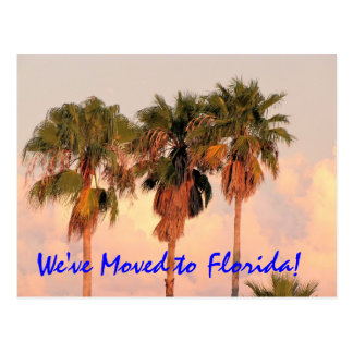 We Moved to Florida Post Card