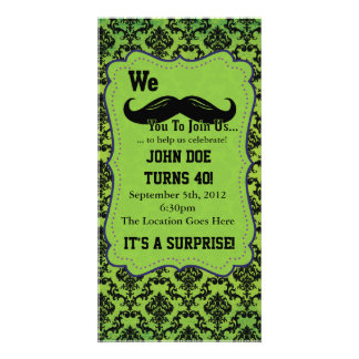 We Mustache You to Join Us! Card