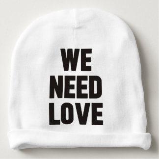 we need love baby beanie