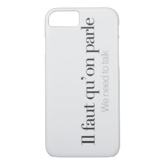 We need to talk. iPhone 7 case