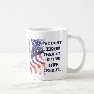 We Owe Them Veterans Day Mug
