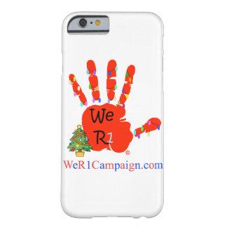 We R1 Christmas Hand Phone Case
